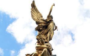 Victoria Memorial detail 13 by RoyalScanners