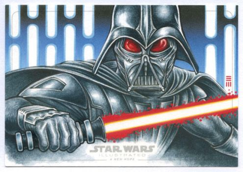 Darth Vader Artist Proof - McQuarrie Concept by Erik-Maell