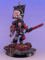 Brother Sgt Theron, Legio Bolter and Chainsword by CTHagen