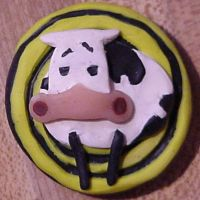 Cow Magnet by Ranasp