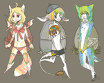 egg adoptables - HATCHED by alpacasovereign