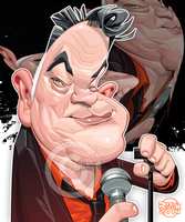 Stewart Lee by RussCook