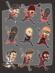 Chibi Fortress by forte-girl7 by TeamFortress2Club
