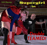 Supergirl in Double Teamed by McGheeny