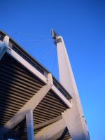 Ullevi Arena pylon by al-xx