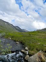 Alaska Landscape River 1 by prints-of-stock
