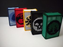 Magic the Gathering Deck Boxes - MTG by Tails32x