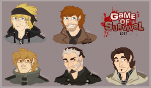 Game of Survival Cast by Mikaces