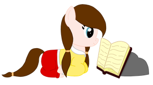 Janice the Bookworm (for PinkieJanice's contest) by PercyJacksonFangirl1