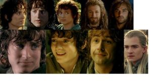 Another Middle-earth Collage by CloudyRose06