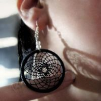Dreamcatcher Earring by Maylar