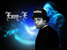 Eazy-E with Bling Title by Afrikaaaa