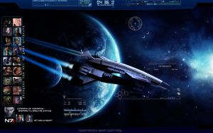Mass Effect Desktop by Saka88Bln