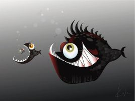 Fishes and fishes. by daunhaus