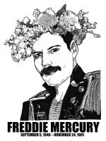 DSS No. 11 - Freddie Mercury by gothicathedral