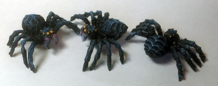 Ice Spiders by Spielorjh