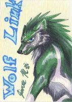 Playing Card - Wolf Link by Jianre-M