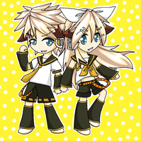 DC + IP = Len + Rin? Digital Version by GeekyEffy