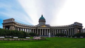 Kazan Palace in St. Petersburg by EldarZakirov