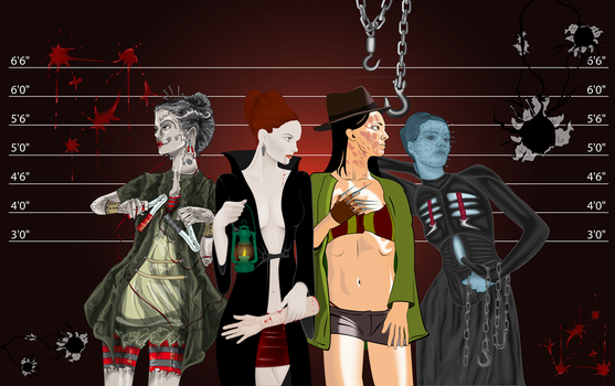 VCB entry: Horror Lineup by LineBirgitte