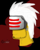 Godot the head by BrumbyOfSteel