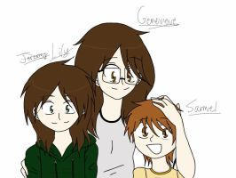 :The Hale Siblings: -UPDATED- by DororoXPenana