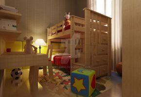 GDP2 Child bedroom by vaD-Endz