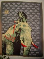 Memoire d'elephant by Uech