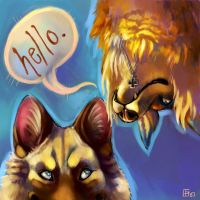 Hello by thornwolf