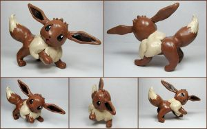Eevee Sculpture by LeiliaK