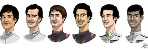 F1 drivers 2010, part 4 by xelanelho