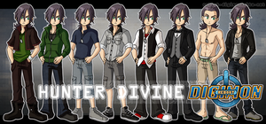 Character Outfits - Hunter by bluster-squall