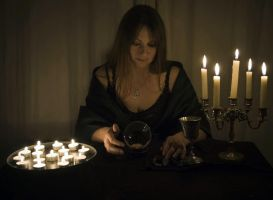 Fortune Teller Woman by Sassy-Stock