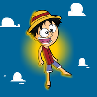 Luffy D. Monkey by Meatball-man