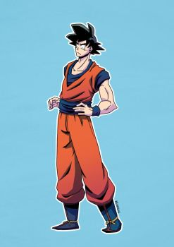 Goku by After9