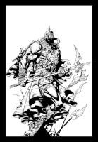 Death Dealer Inks by JL Straw by TheInkPages
