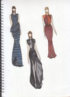 Inspired Gowns by FaithRarefaction