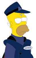 Homer Simpson (Mind Control) by KidBobobo