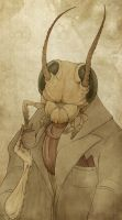 Gentleman Bug by CalamityChemist