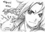 EDWARD ELRIC by SAILORGRIMMJOW6