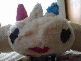 Togekiss Plushie Face by LightSnake