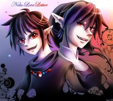 Dark Link - Child and Adult by NekoLoveLetter