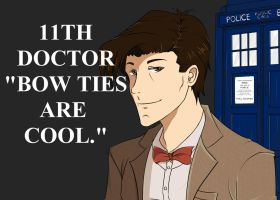 Matt Smith the 11th Doctor by Gearfreed