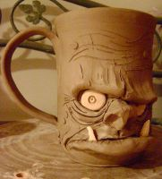 ogre beer mug- unfinished by thebigduluth