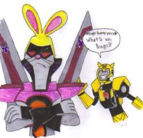 TFA: Bunny Starscream by KessieLou