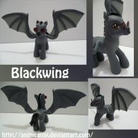 Blackwing Pony by AnimeAmy