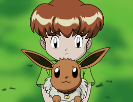 Mikey and Eevee by mrockz