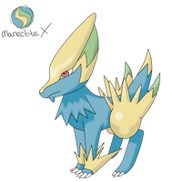 CE: Mega Manectric X by TheLittleNymph
