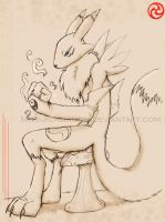 Renamon for Frei by MIT-Hellan