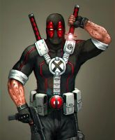 Deadpool: weapon X by FonteArt